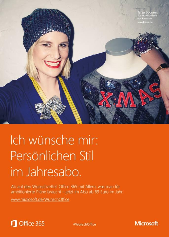 Microsoft Office Anzeige