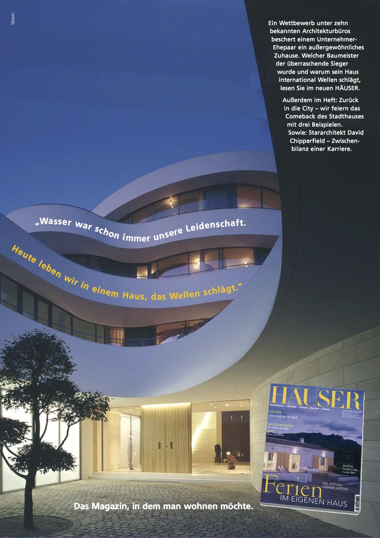 h user magazin anzeige birgit rohrbeck text und konzeption. Black Bedroom Furniture Sets. Home Design Ideas